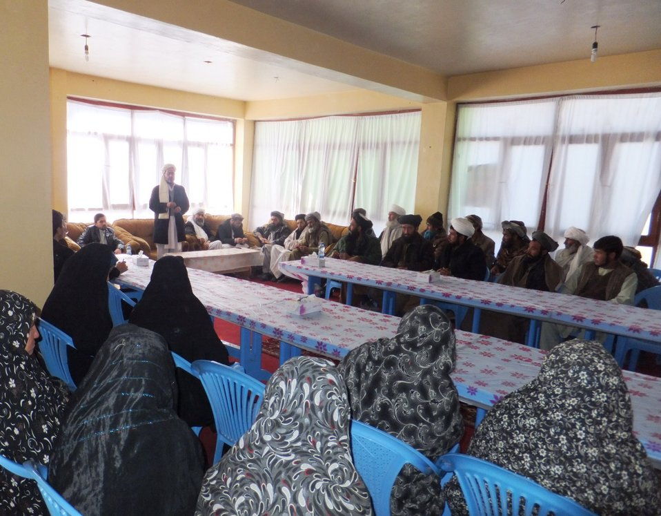 The 8th Chaghcharan DSC meeting was held with partiicpation of 69 people on November 27