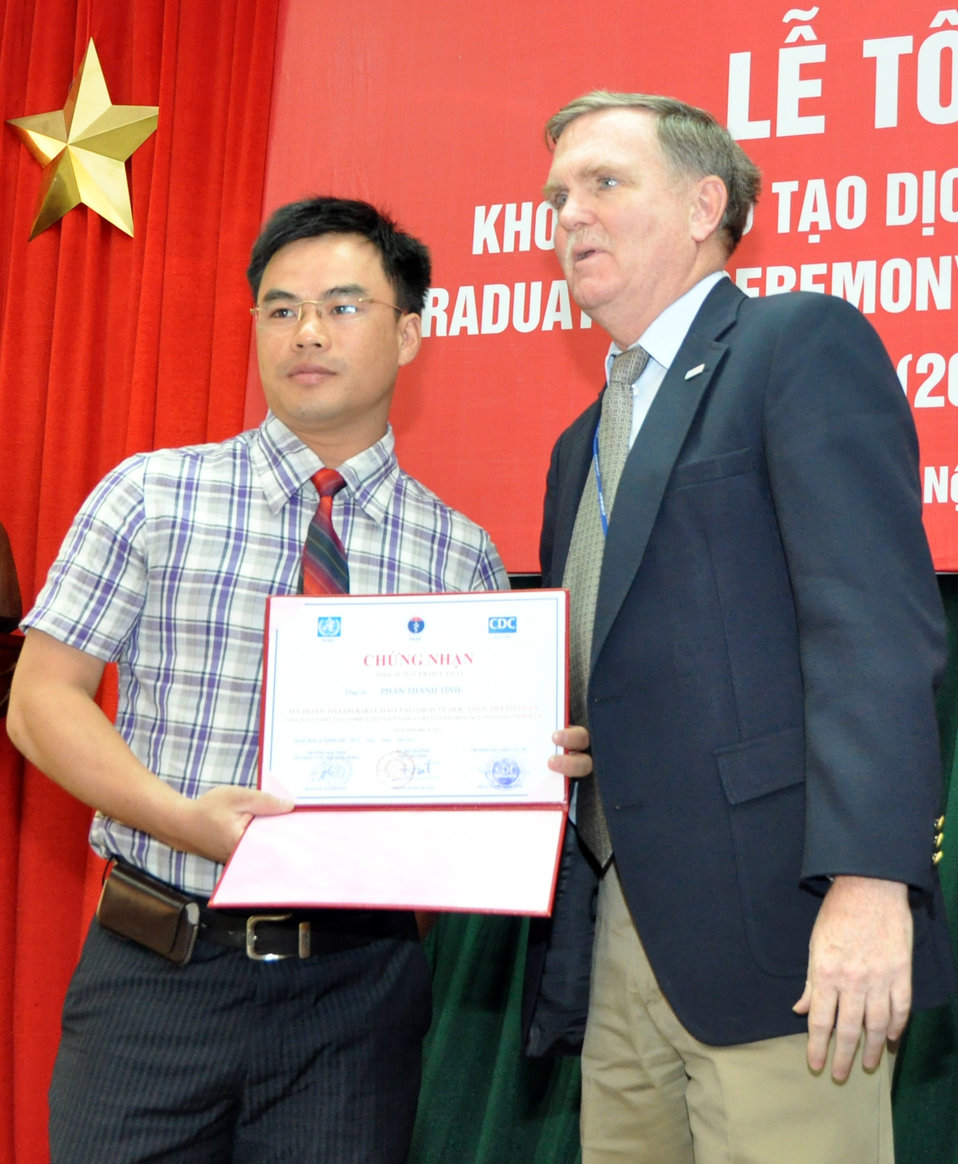 Field Epidemiology Training Program Graduation