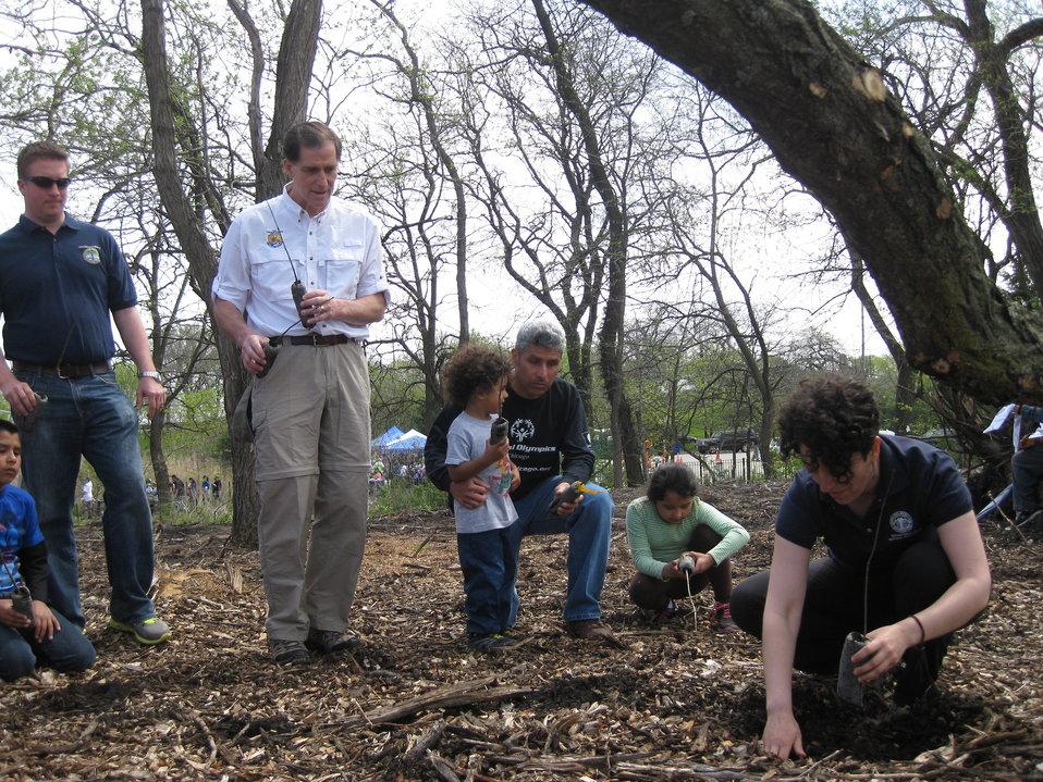 Tree Planting Instruction Starts