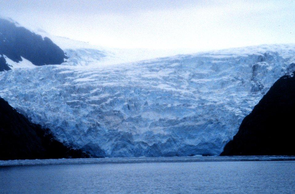Holgate glacier in Kenai Fjords