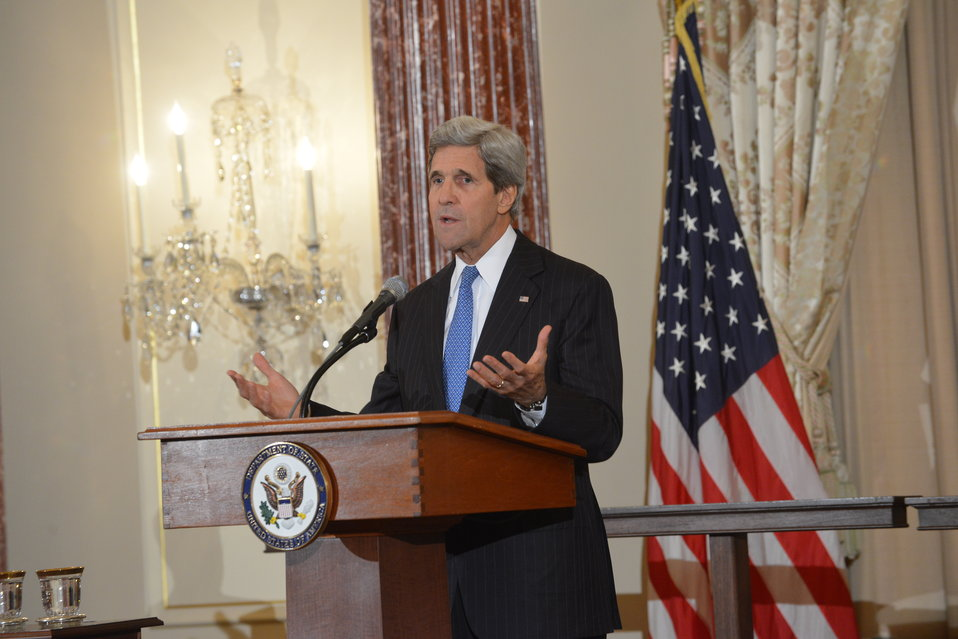 Secretary Kerry Hosts an Iftar