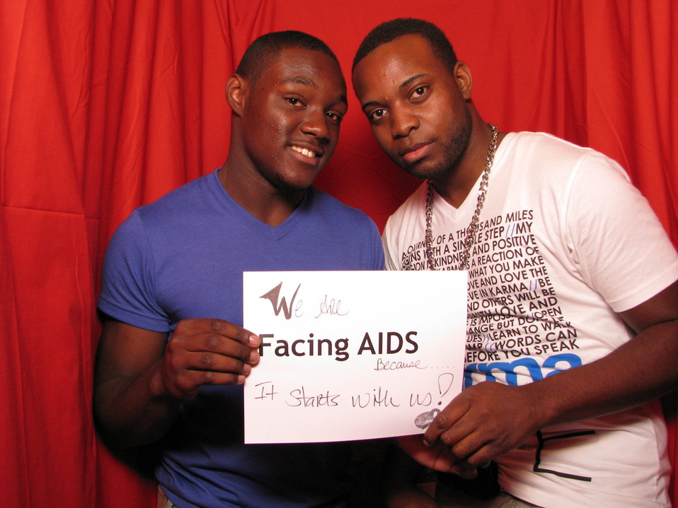 We are FACING AIDS because it starts with us!