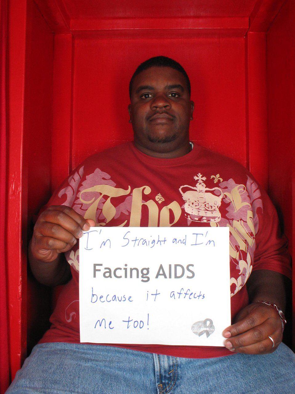I am straight and I'm Facing AIDS because it affects me too!