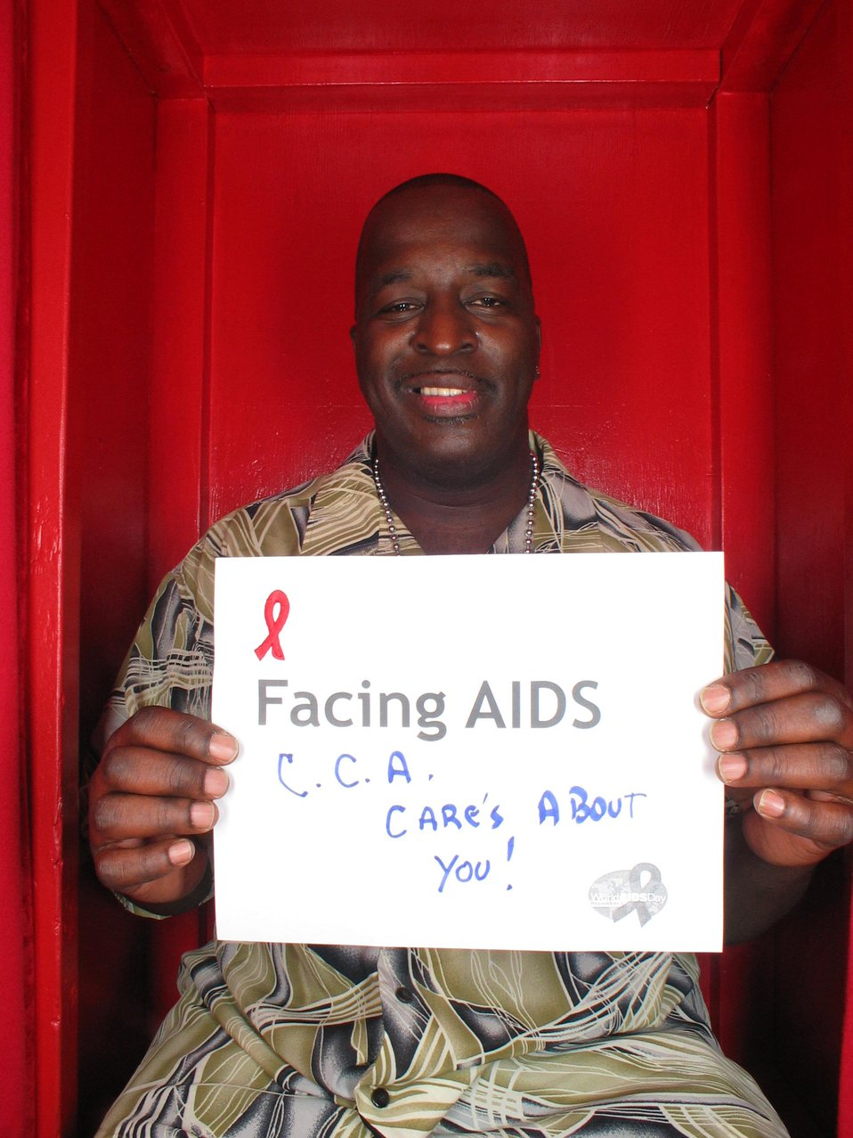 Facing AIDS C.C.A care's about you!