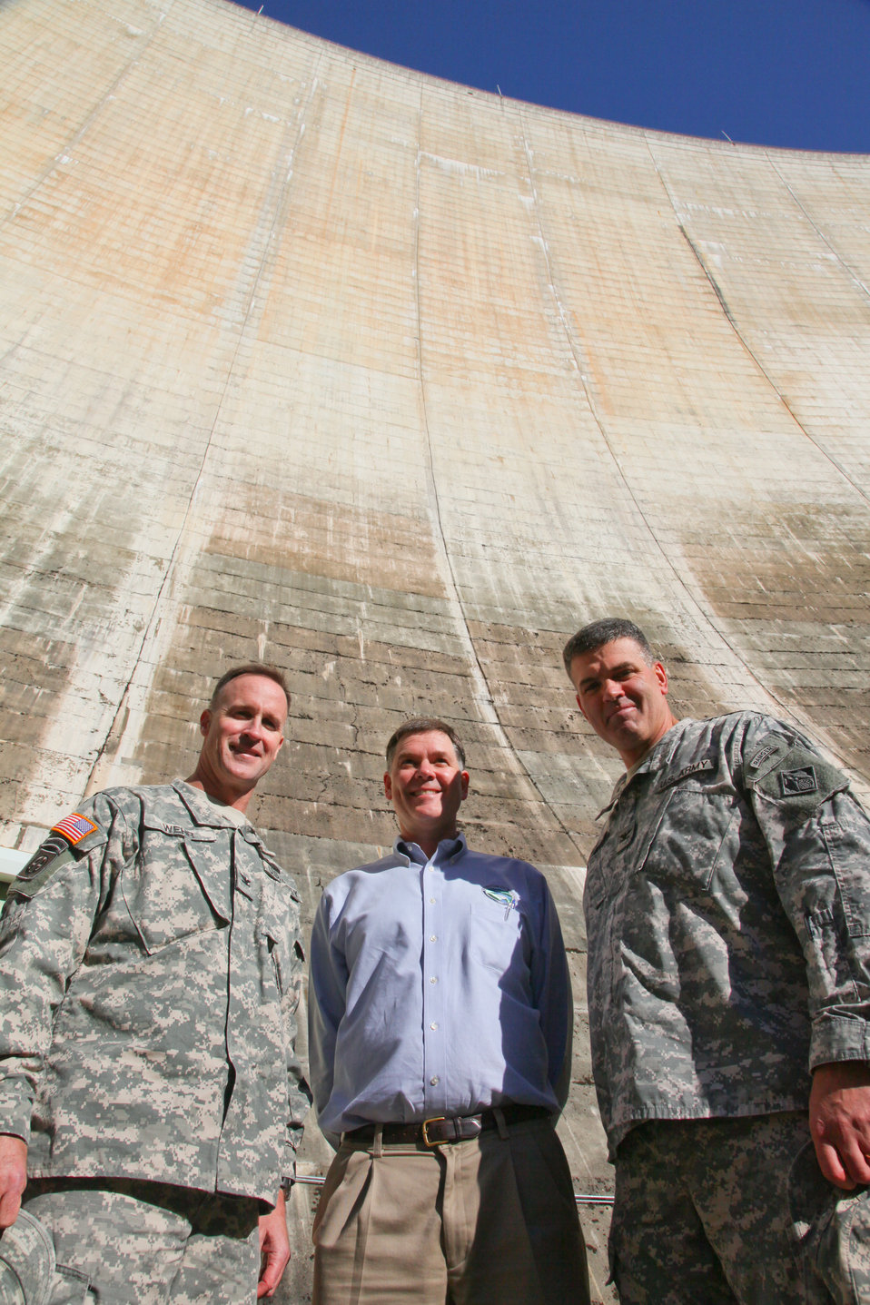 Corps takes a tour of the Yuba County Water Agency