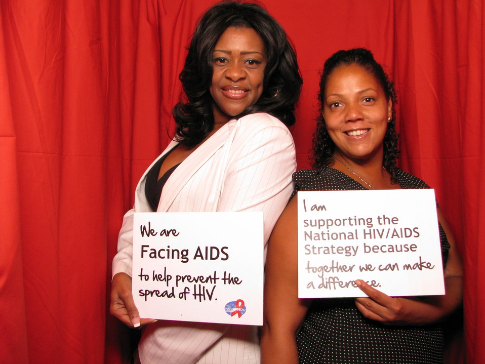 We are FACING AIDS to Help Prevent the Spread of HIV. I am Supporting the National HIV/AIDS Strategy because Together We Can Make a Difference.