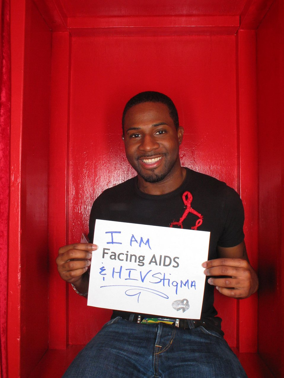 I am Facing AIDS and HIV stigma