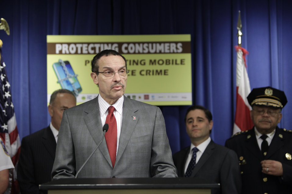 Mayor Vincent Gray Talks About Consumer Protection