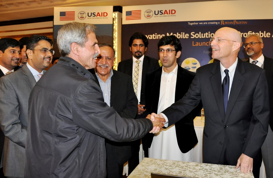 Launch Ceremony of the Mobile Agriculture Project