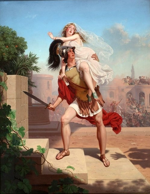 Charles Christian Nahl 1870, The Rape Of The Sabines - The Abduction.jpg
