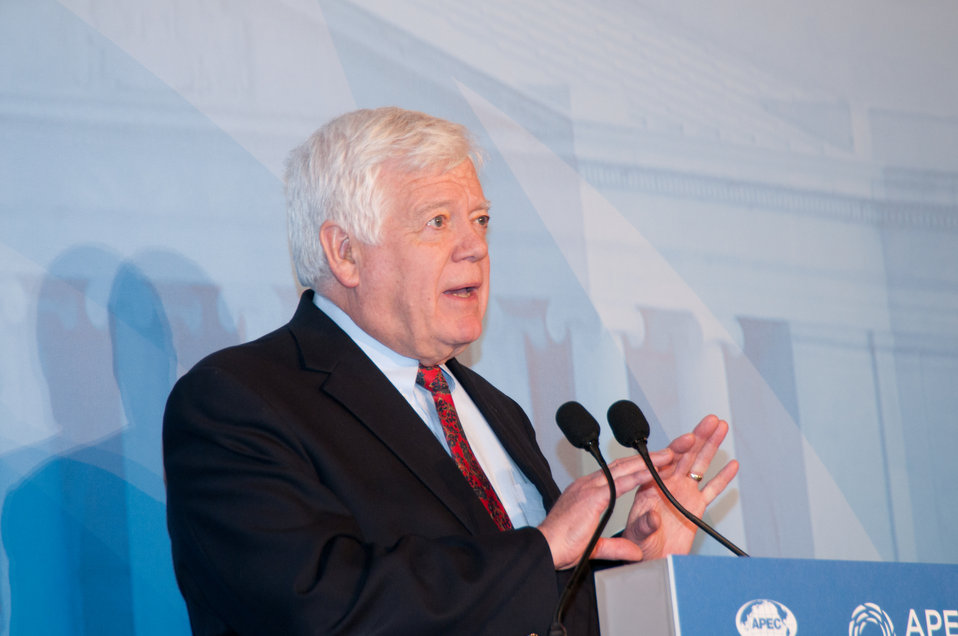 Congressman McDermott Speaks During Welcome Reception