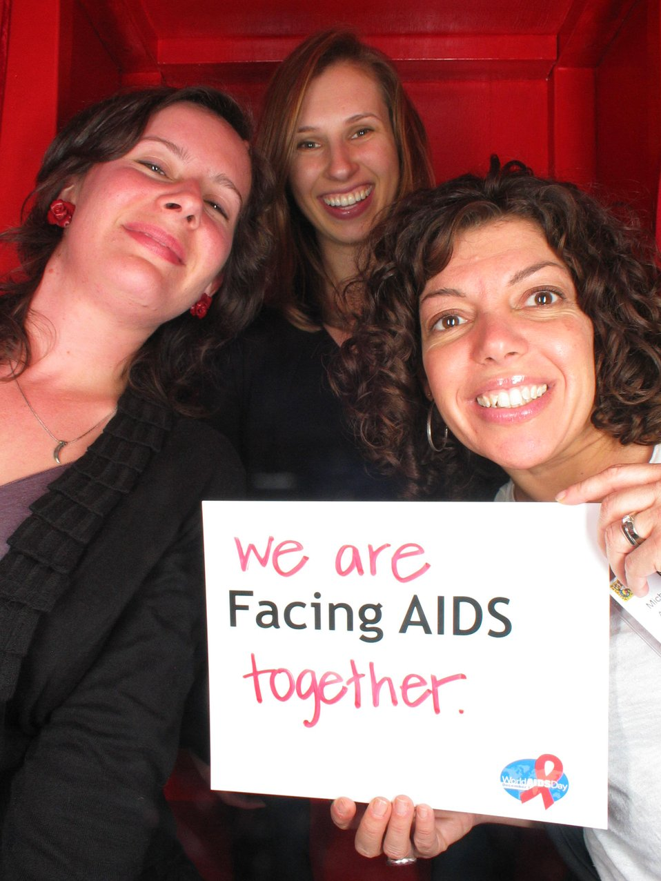We are Facing AIDS together.