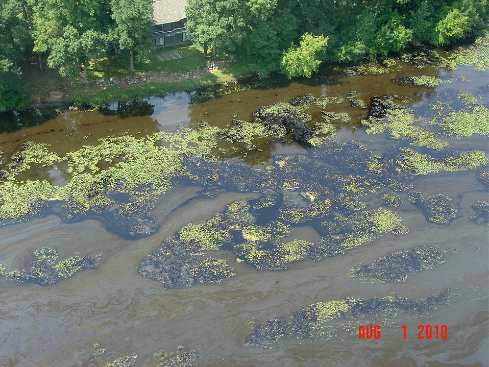 EPA's response to the Enbridge oil spill