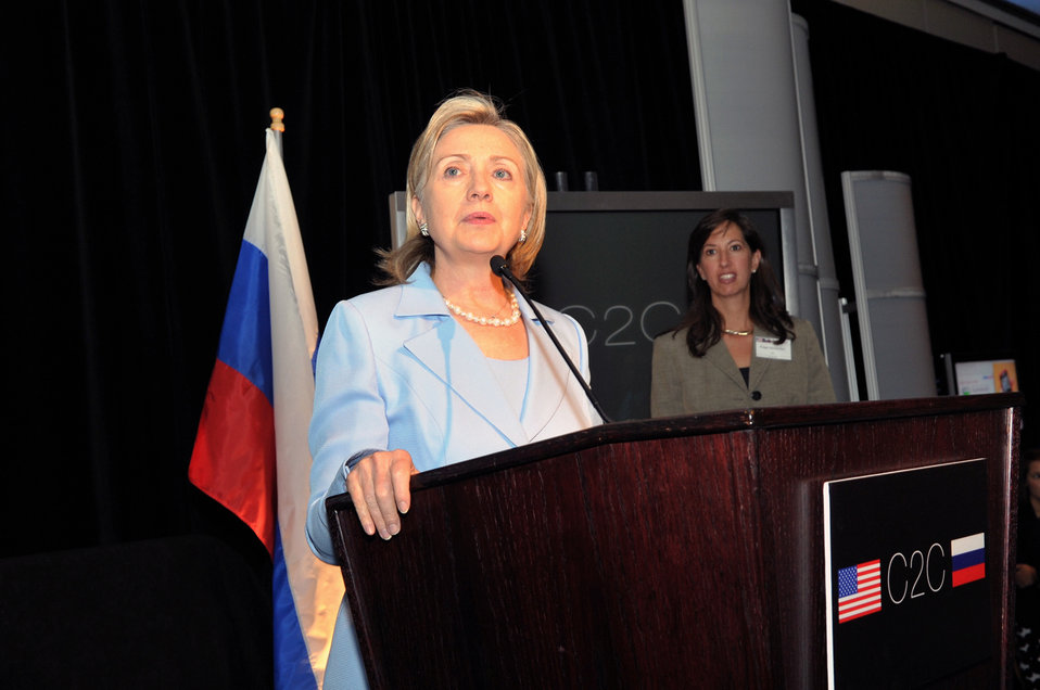 Secretary Clinton Delivers Remarks at U.S.-Russia