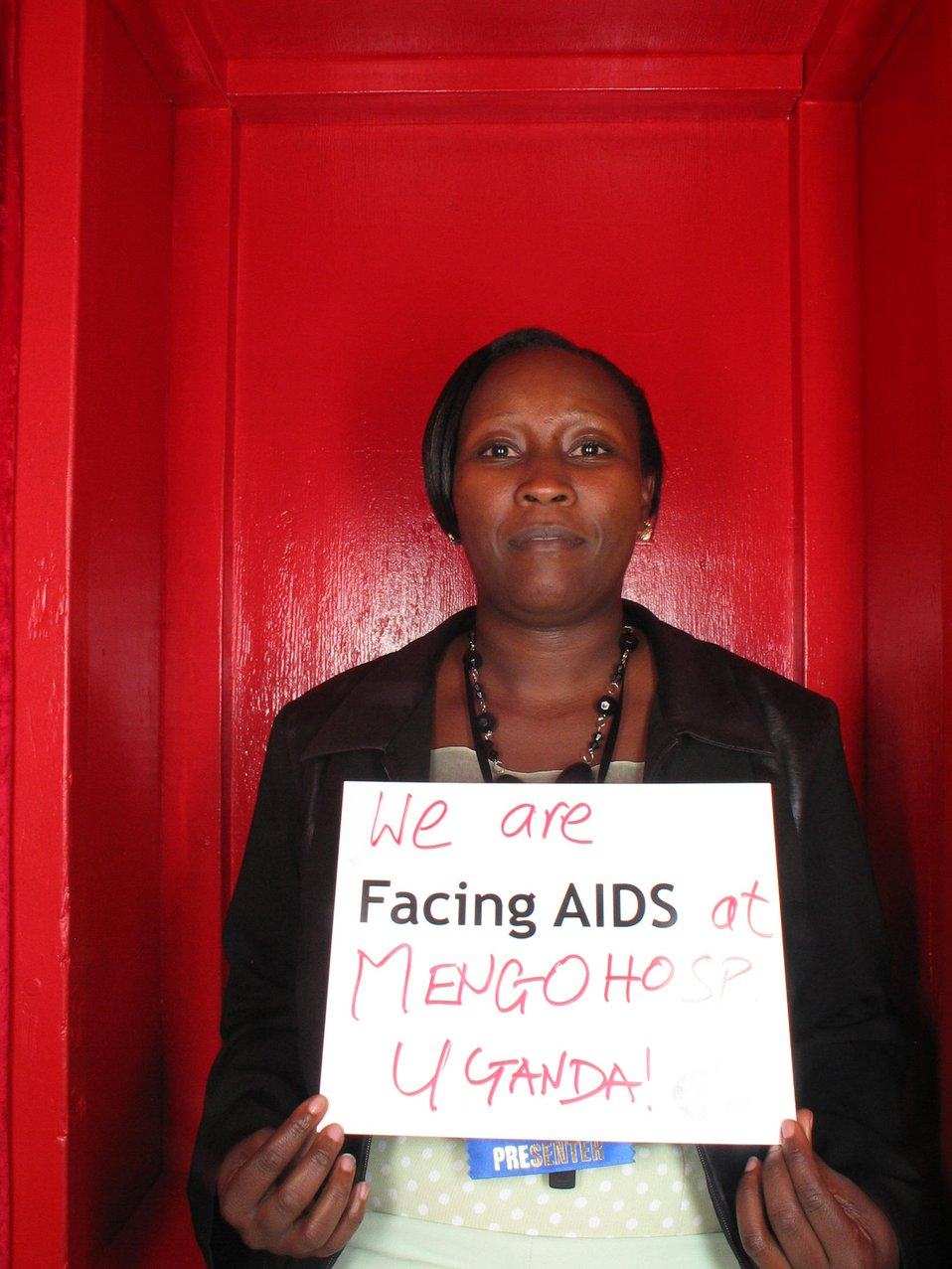 We are Facing AIDS at Mengohosp Uganda.