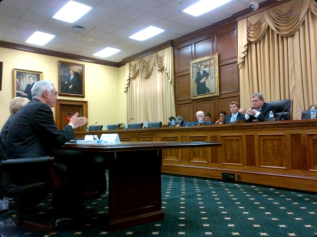 May 8, 2013 - Acting Administrator Bob Perciasepe testifying before the House Appropriations Committee