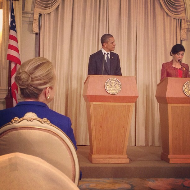 President Obama and Thai Prime Minister Shinawatra Hold a Joint Press Conference