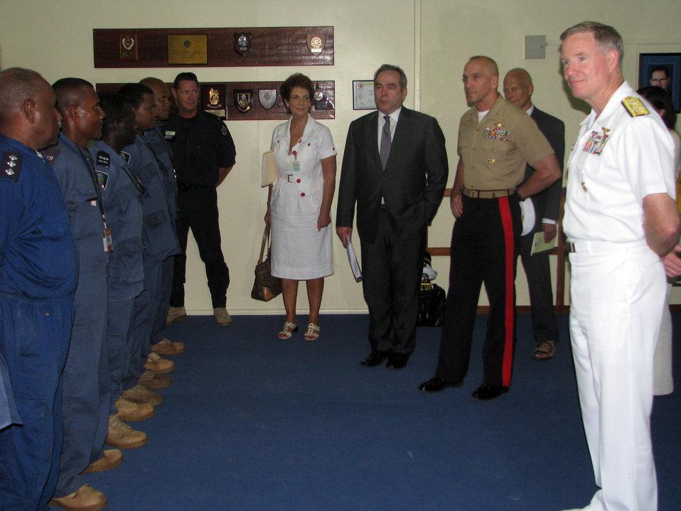 Assistant Secretary Campbell Addresses Solomon Islanders