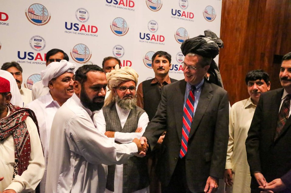Islamabad, September 12, 2012 - Project Launch Ceremony of Waran Canal Irrigation System