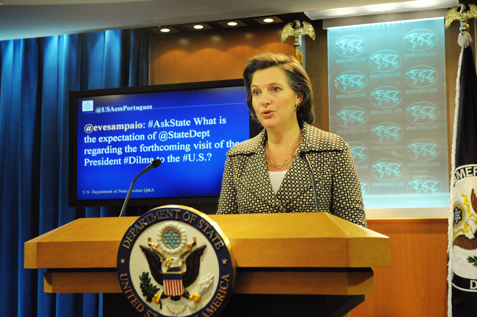 Spokesperson Nuland Responds to a Question from @USAemPortugues