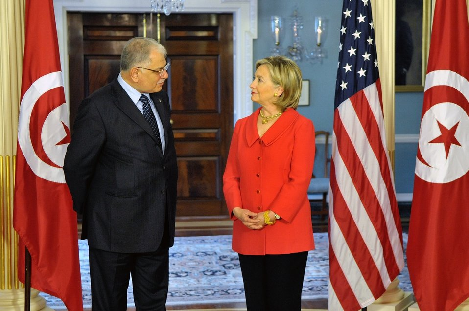 Secretary Clinton Speaks With Tunisian Foreign Minister Morjane