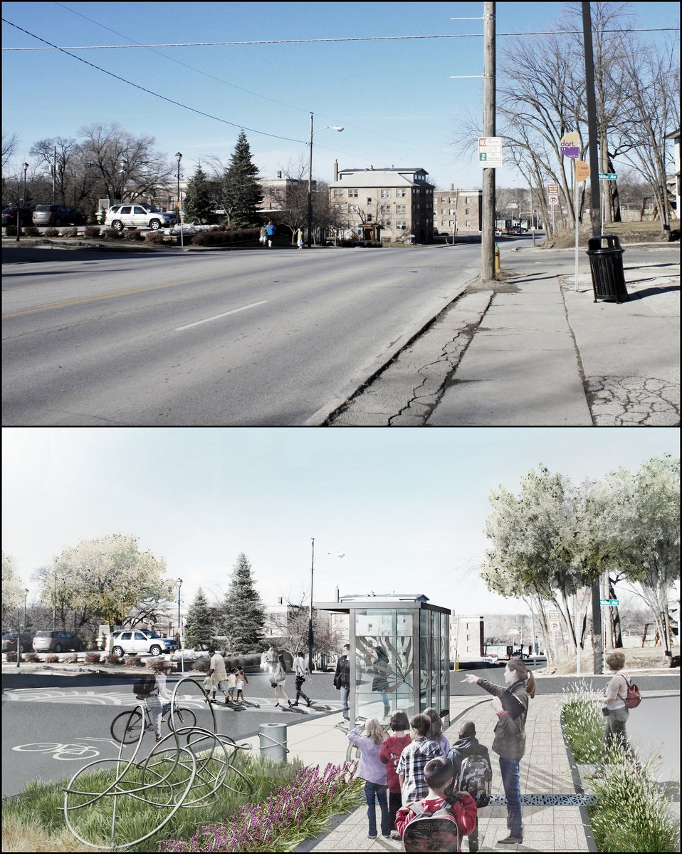 Greening America's Capitals Before / After, Des Moines, IA