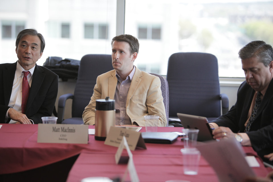 FCC Chairman Host Leaders From the Digital Education Ecosystem