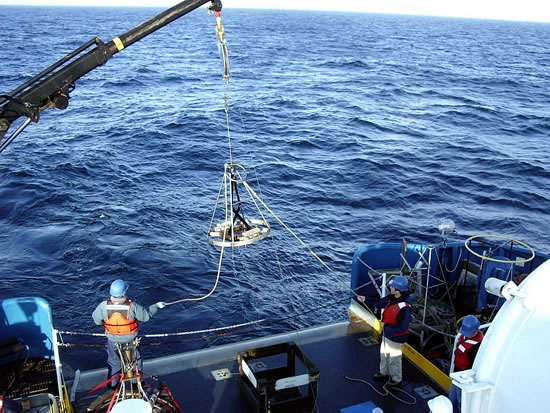 Ocean survey mission