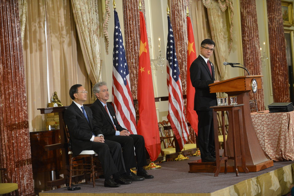 Ambassador Locke Delivers Remarks at the U.S.-China EcoPartnerships Event