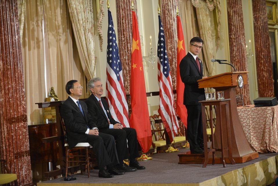 Ambassador Locke Delivers Remarks at the U.S.-China EcoPartnerships Event