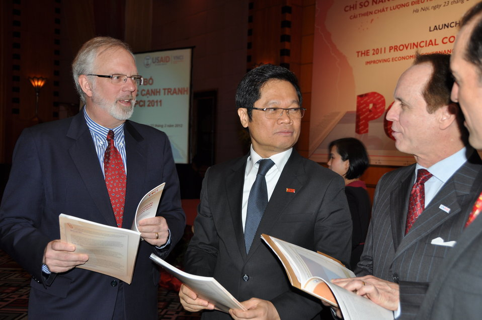U.S. Ambassador David B. Shear at the  Provincial Competitiveness Index 2011 Launch