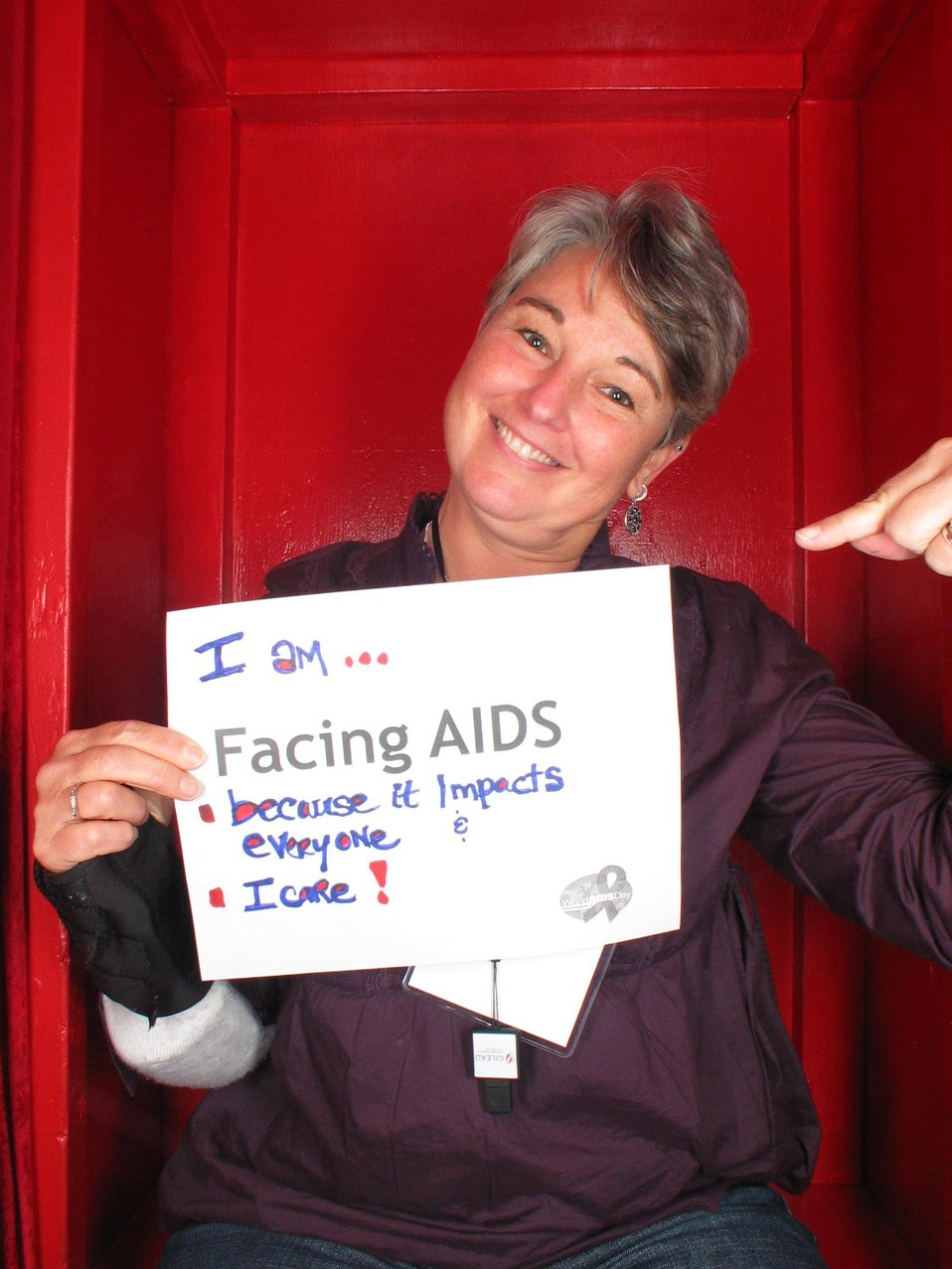 I am Facing AIDS because it impacts everyone I love!