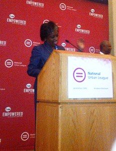 National Urban League Joint Leadership Luncheon 7-24-2013