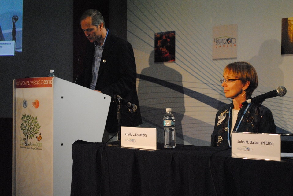 'Climate Change and Human Health' Panelists Respond to Questions