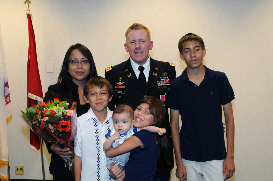 District deputy commander retires