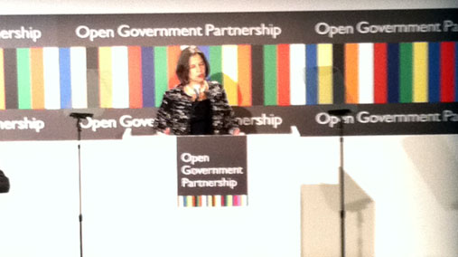 Under Secretary Otero Delivers Remarks on the Open Government Partnership