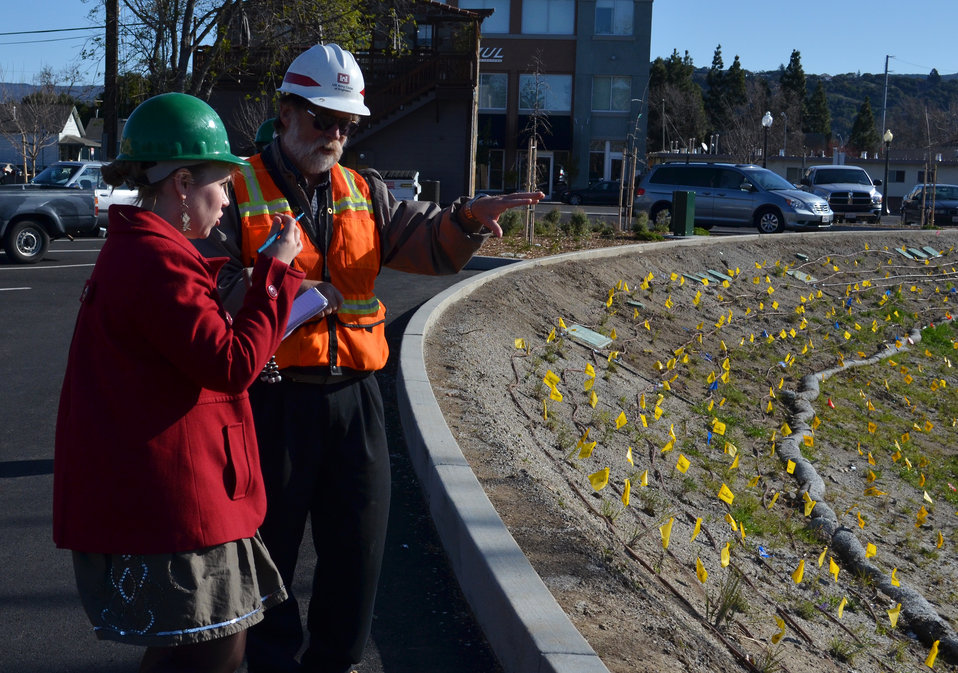 Corps provides glimpse of Napa Creek project progress