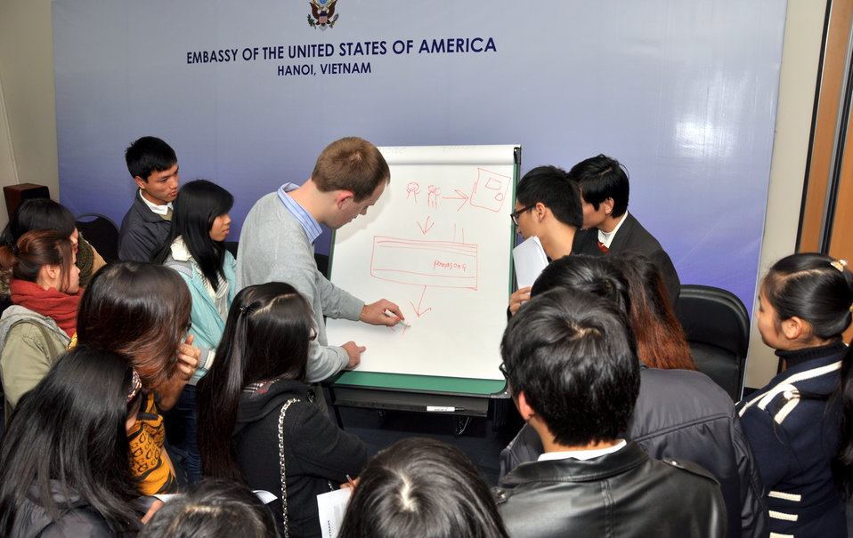 Speaker program on Climate Change and Clean Energy at the American Center