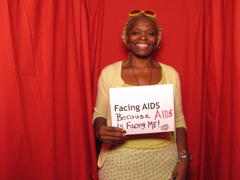 FACING AIDS because AIDS is Facing ME!