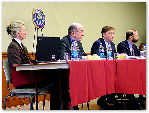 FCC Commissioners at February Open Commission Meeting, Keller, Texas.