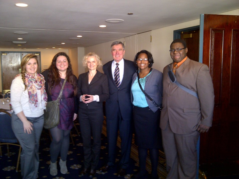 L to R: Mary Hill; Kim Norris; Dr. Volkow; Gil Kerlikowske; Danielle Rollins; Everett Grayson