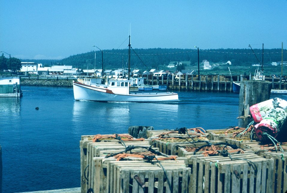Southeast New Brunswick fishing village.