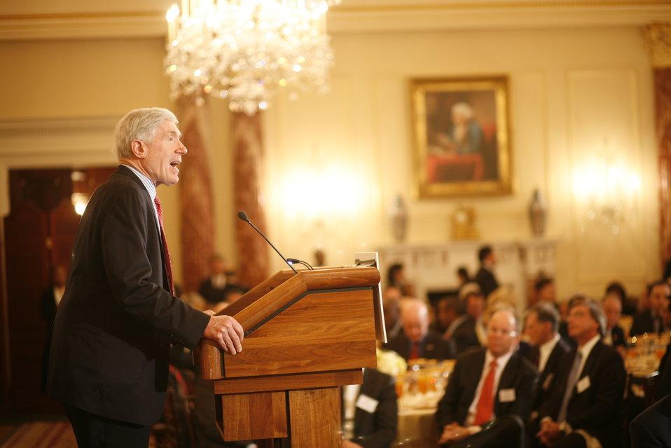 Under Secretary Hormats Delivers Remarks