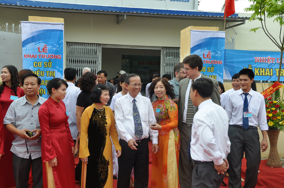 Co-pay Methadone Treatment Center Opens in Hai Phong on June 18, 2011