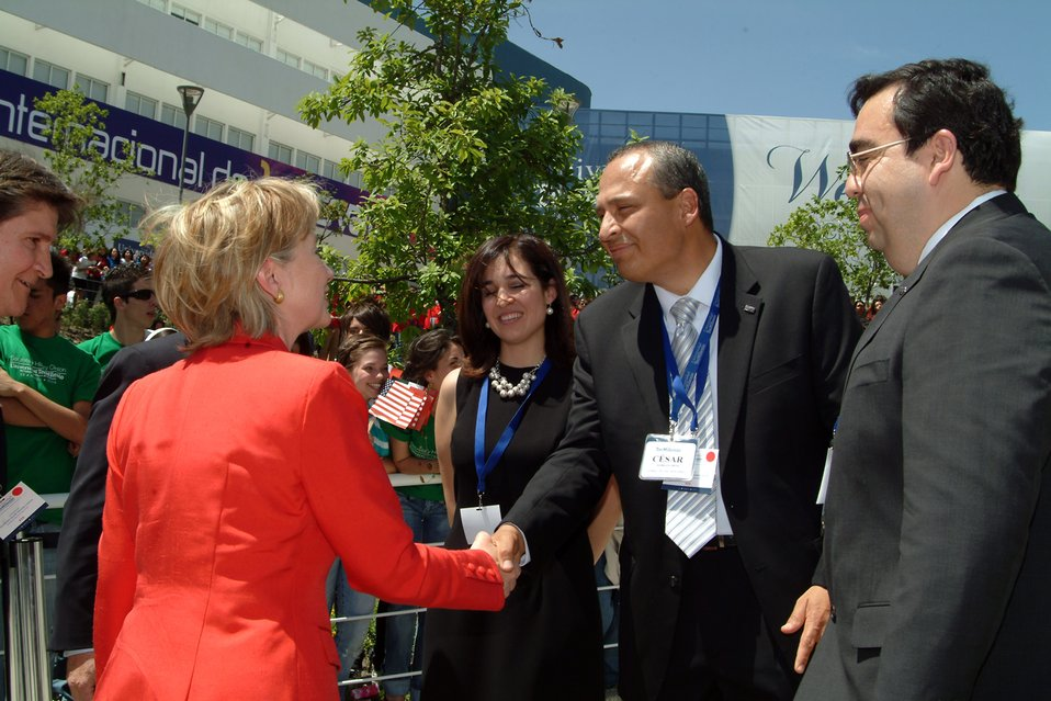 Secretary Clinton at TecMilenio University