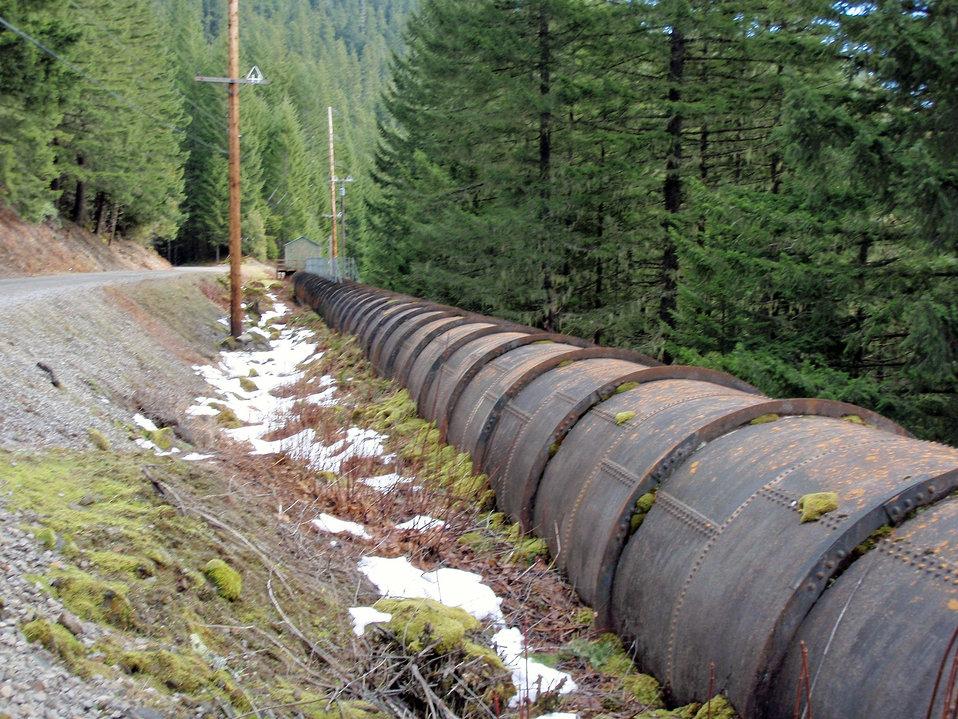 Oak Grove Fork Fish Return Pipeline