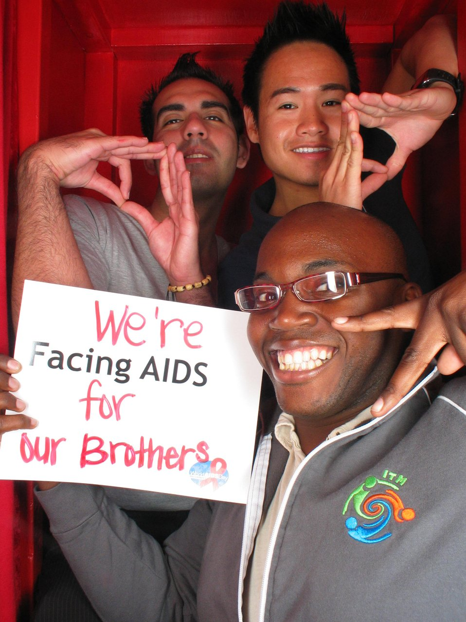 We're Facing AIDS for our brothers.