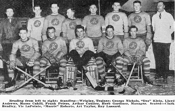 1929-30 Philadelphia Arrows (C-AHL)
