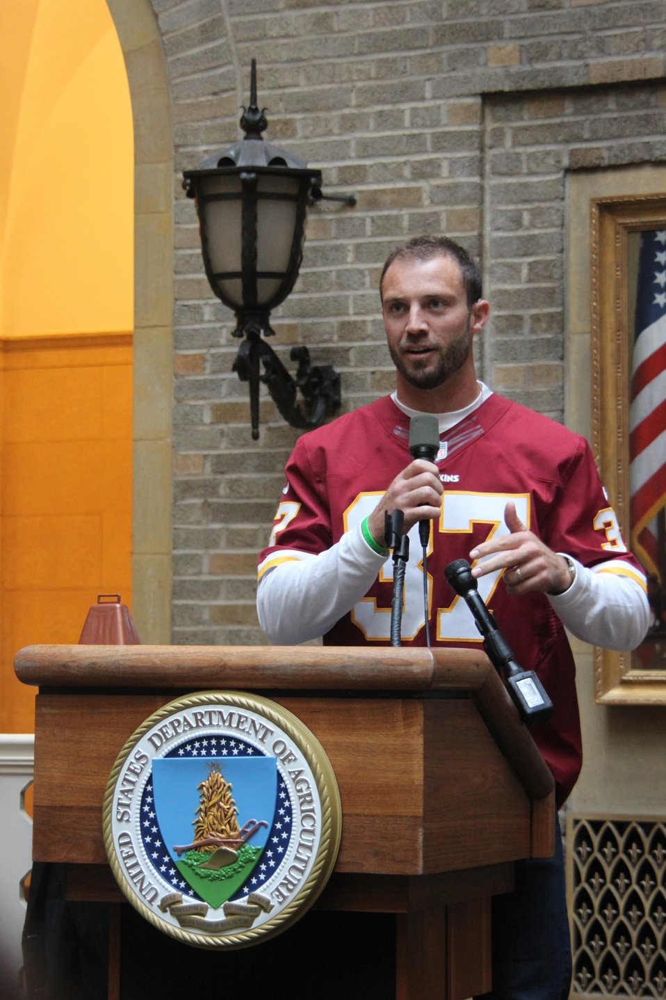 Washington Redskins Safety Reed Doughty