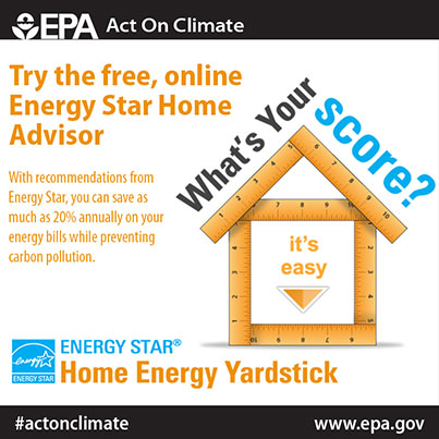Try Energy Star's Home Energy Yardstick